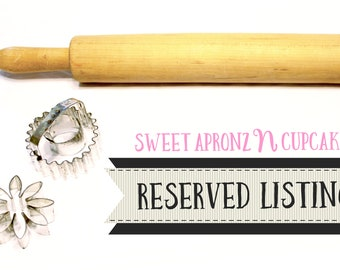 Reserved for Felicia Cotton