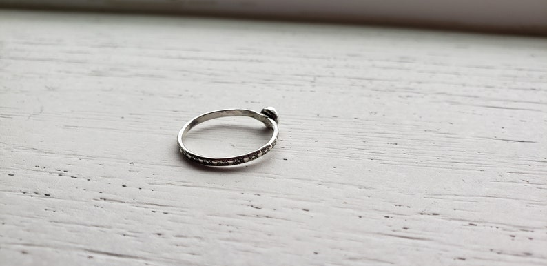 Opal Stacking Ring Gift Under 50 Opal Ring Stacking Set Opal Ring Opal Ring Set Opal Ring Sterling Silver Stacking Ring Set