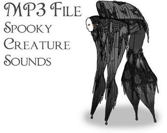 MP3 File of Stilt Spirit Sound Effects - Instant Download