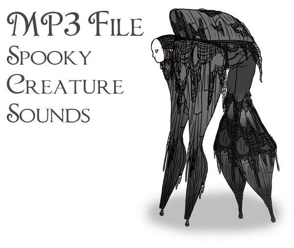 Mp3 file of stilt spirit sound effects | etsy.