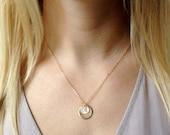 Yoga Gift, Yoga Necklace, Om Necklace, Personalized Necklace, Om Jewelry, Gift for Yoga Lover, Personalized Yoga Necklace, Personalized Gift
