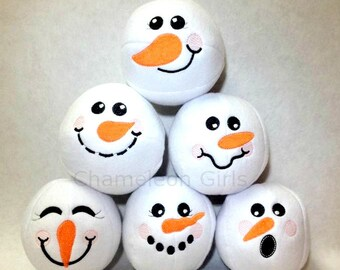 Snow Much Fun Snowball Fight Indoor Play Plush Toys Winter Games Stocking Stuffer