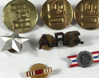 Military insignia pin   Etsy