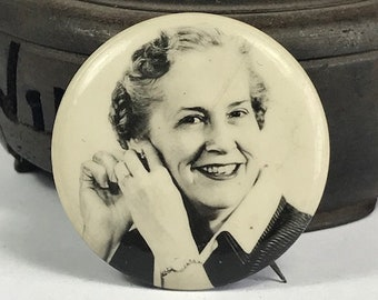 Edith Green Button Circa 1965 - Oregon History