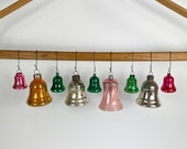 10 Vintage Bell Ornaments