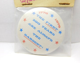 7d70fd8c8c9c1 Vintage 1970 s New Old Stock Pin Pinback Button