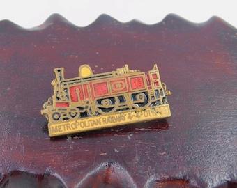 Vintage 4-4-0T Metropolitan Railway Locomotive No. 23 Pin dr58