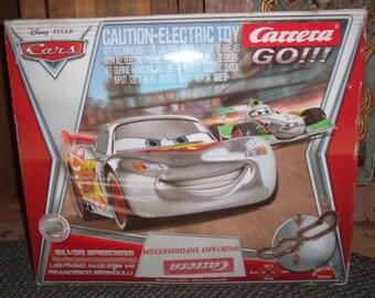 Disney , Cars, Carrera go!!!! silver speeders, complete