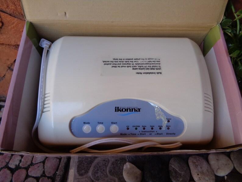 Ikonna 45 watt Gel Curing uv lamp/light nail dryer | Etsy