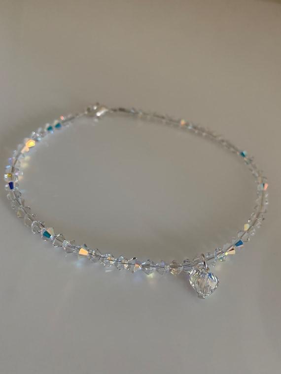 Swarovski Crystal Anklet Wedding Anklets Crystal Anklets | Etsy