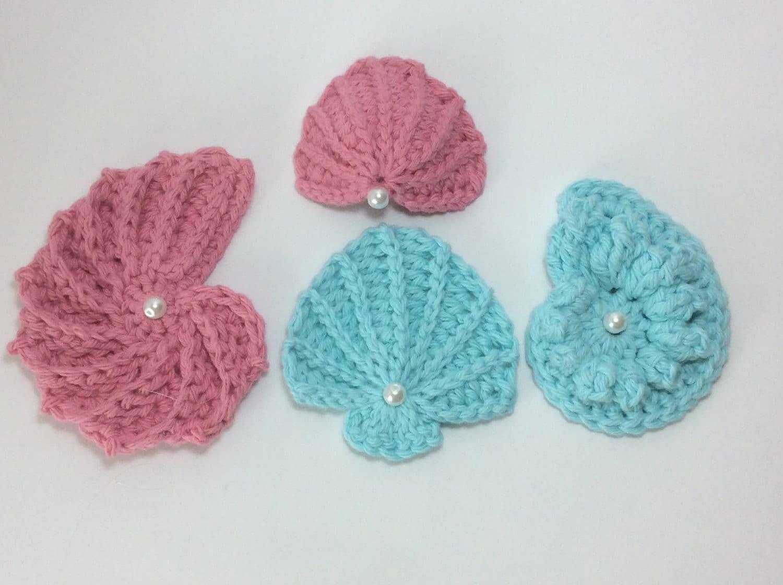 Set Of 4 Pdf Sea Shell Patterns4 Seashell Patterns Buy 3 Get Etsy