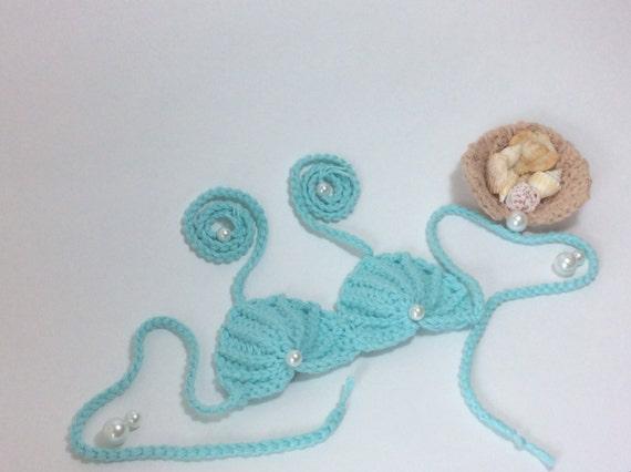 Crochet Pattern Pdf Pattern Seashell Mermaid Top Pattern Etsy