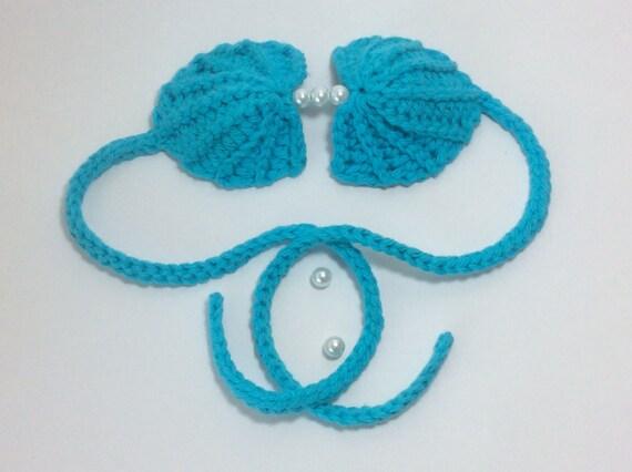 Crochet Pattern Pdf Pattern Crochet Seashell Mermaid Top Etsy