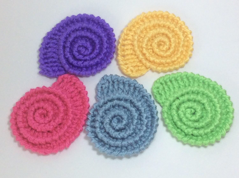 Crochet Patternpdf Pattern Seashell Pattern Textured Etsy
