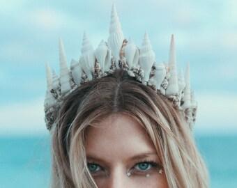 La Jolla Mermaid Crown Tiara