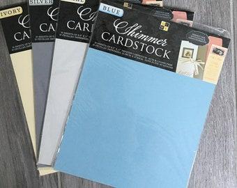 20 A4 SEA BLUE PEARLESCENT SHIMMER PAPER 100gsm SUITABLE INKJET /& LASER PRINTERS