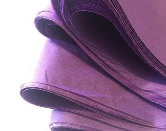 Purple Tissue Paper,  Sheets Bulk Tissue Paper Gift Packaging, Purple Egplant Wedding Supplies