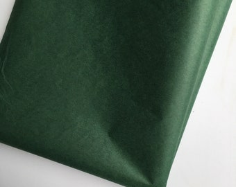 Evergreen Tissue Paper, Greenery Baby Shower, Deep Green Sheets Bulk Tissue Paper Gift Packaging