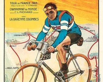 Cycles Baggi-Samyn Bicycle Poster (#0705) 6 sizes