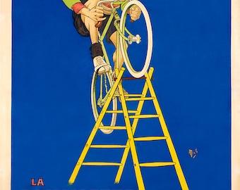 J. B. Louvet  Poster (#0204) 6 sizes
