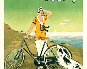 De Dion-Bouton Bicycle Poster (#0539) 6 sizes