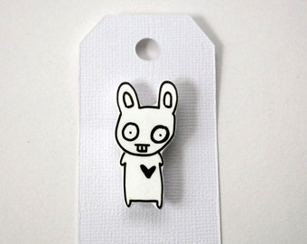 Rabbit Shink Plastic Pin