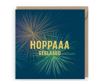 Graduation card, funny graduation card, card for grad, high school, phd, promotion