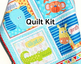 Quilt Kit I Love You To The Moon And Back Panel Gender