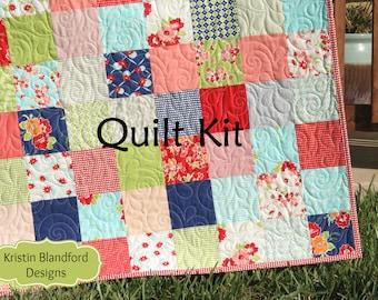Diy kit blanket etsy quick view miss kate quilt kit solutioingenieria Images