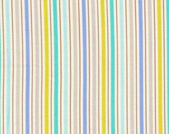 SALE Kumari Garden Tanaya DF103 Blue Free Spirit Westminster Fabrics Blue Stripe Dena Designs