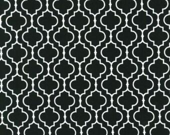 SALE Metro Living Geometric Print in Black Robert Kaufman Fabrics Basics Stash Builder Solids EIP-11018-2 Black One yard