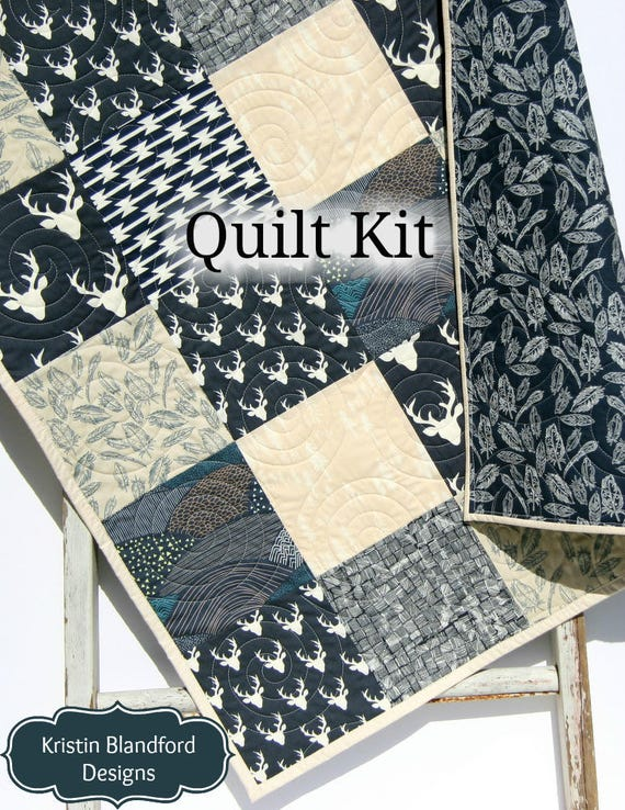 Maison de poupées ~ Quilts ~ bleu//blanc ~ crème//gris ~ Rose//motifs ~ 2 Tailles