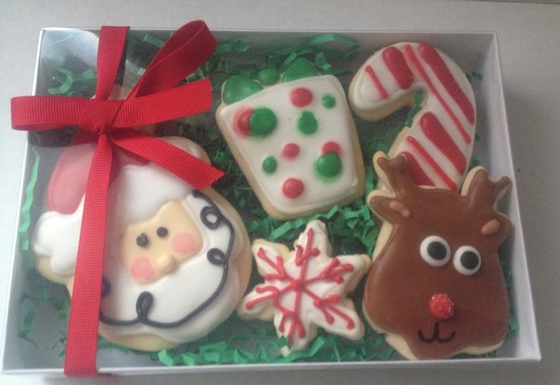 Christmas Cookie Boxed Set Christmas Cookies Christmas Gift Etsy