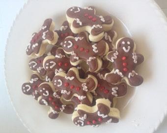 Mini Gingerbread Sugar Cookies