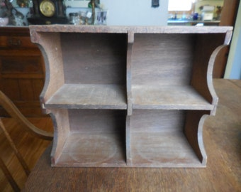 New Small Wood Display Shelves