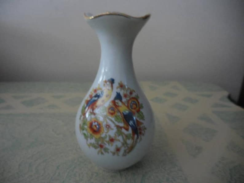 Antiques Decorative Arts Honesty Stunning Floral Limoges Vase Made In France