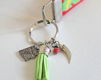 ARIZONA Keychain Wristlet   Key Fob Wristlet   Wristlets   Key Holder   Badge Wristlet   Badge Holder   Key Chains   Arizona