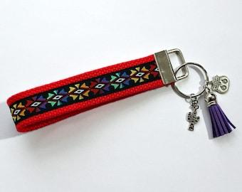 ARIZONA Keychain Wristlet   Key Fob Wristlet   Key Holder   Key Chains   Wristlets   Aztec Design   Arizona