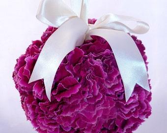 Rich Ruffles Carnation Pomander