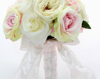 SALE Touch of Pink Rose Bouquet