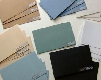 Letterpress Note Card Sets