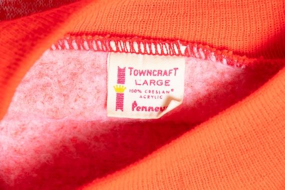 1960s Sweatshirt Short Sleeve Neon Penneys Towncr… - image 6