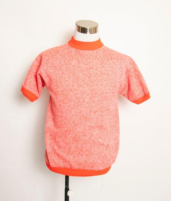 1960s Sweatshirt Short Sleeve Neon Penneys Towncra