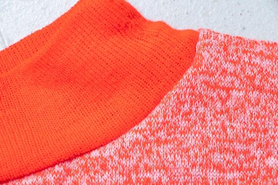 1960s Sweatshirt Short Sleeve Neon Penneys Towncr… - image 5