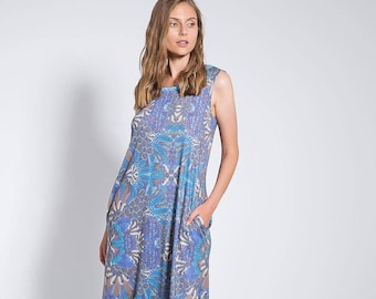 db5fe3b532de Summer Loose Maxi Dress
