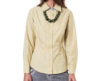 755be77941c Beige Tailored Shirt Formal Long Sleeve Button Down Blouse