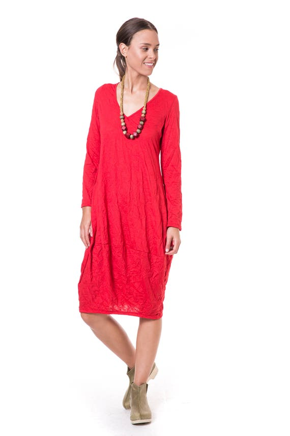 Red Midi Dress Plus Size Party Dresses Spring Dresses For