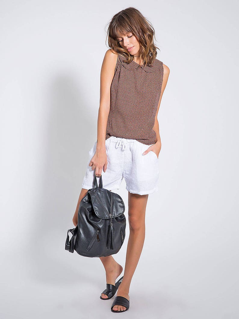 ee9ea964f6ff8 Sleeveless Tops For Women Top Vintage Summer Shirts Brown
