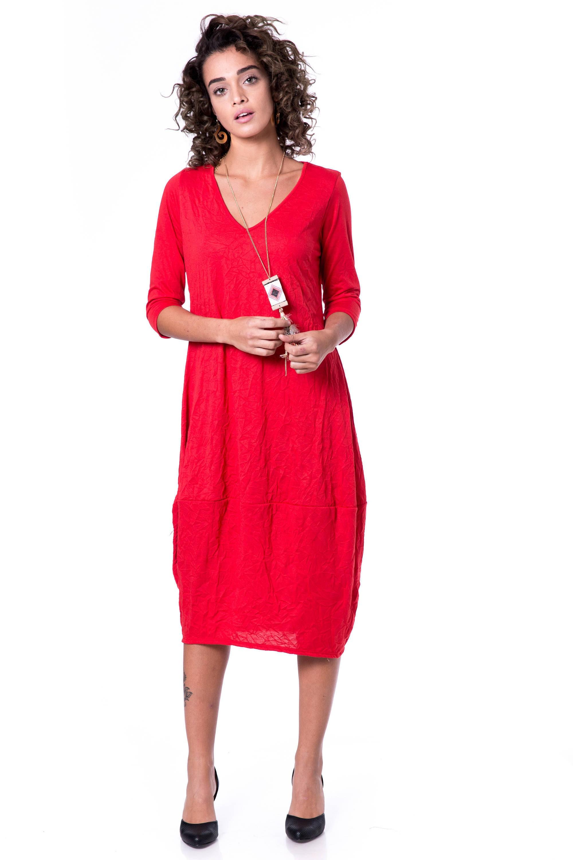 5fe97e83484b5b Rode zomerjurk vrouwen lange rode jurk dag tot avond jurk