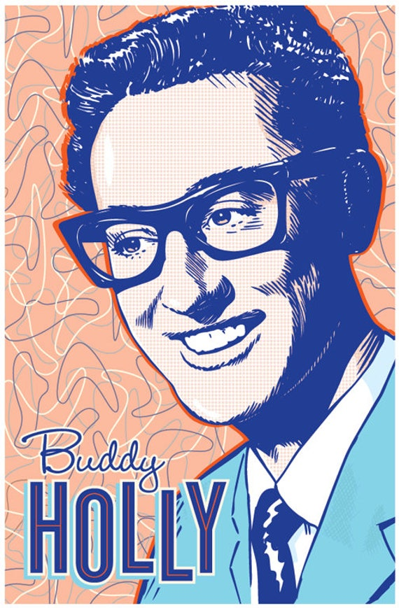 Buddy Holly  Poster 13x19 inches B